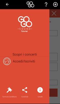 Gogosound – carpooling per concerti screenshot 5