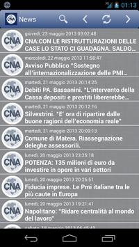 CNA Basilicata apk screenshot