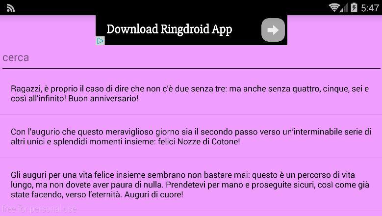 Frasi Matrimonio Non Presenti.Frasi Anniversario For Android Apk Download