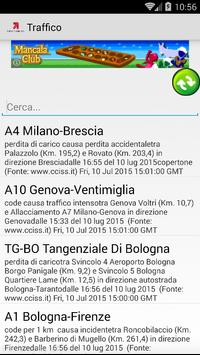 Info traffico autostrade poster