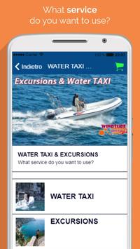 Water taxi Positano screenshot 1