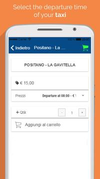 Water taxi Positano screenshot 2