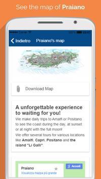 Water taxi Positano screenshot 3