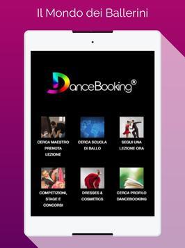 DanceBooking screenshot 1