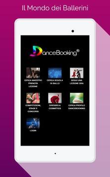 DanceBooking apk screenshot