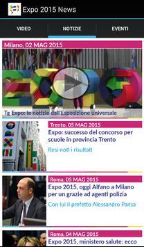 Expo 2015 News apk screenshot