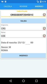 Codice Fiscale screenshot 6