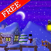 Winter 3D Free Live Wallpaper icon