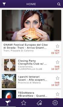 Outsider - web app eventi screenshot 1