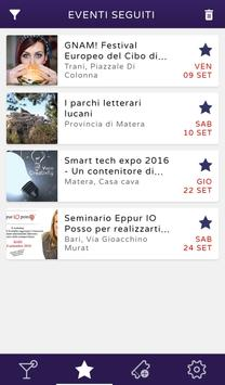 Outsider - web app eventi screenshot 2