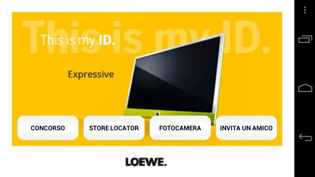 This is my ID Loewe poster