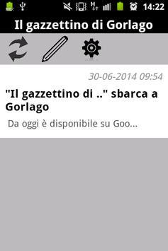 Gorlago News poster