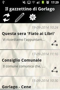 Gorlago News apk screenshot