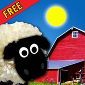 Talking Farm free for kids icon