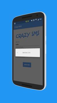 Crazy Prank SMS - SMS not free apk screenshot