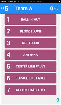 eScoreSheet Tablet apk screenshot