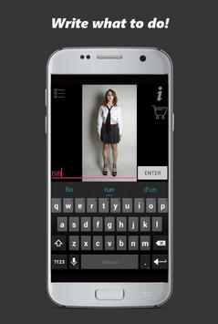 Pocket Girl captura de pantalla 2