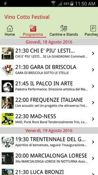 Vino Cotto Festival apk screenshot
