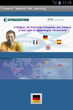 Frasario DeA Learning Tedesco poster