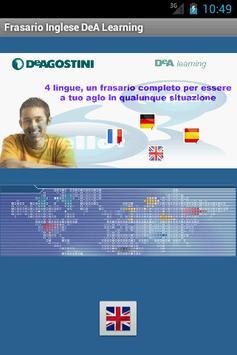 Frasario DeA Learning Inglese poster