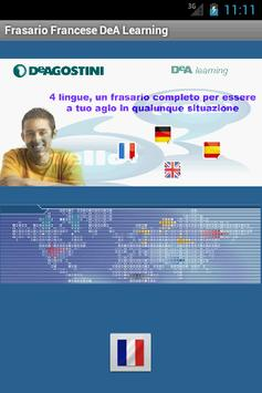 Frasario DeA Learning Francese poster