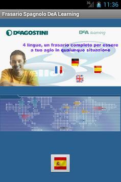 Frasario DeA Learning Spagnolo poster