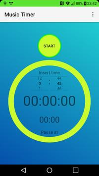 Music Timer screenshot 1