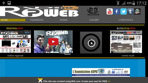 Radio Rpweb OFFICIAL apk screenshot