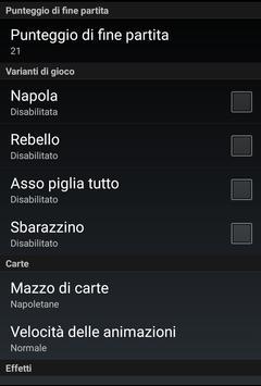 Scopa con Accuso apk screenshot