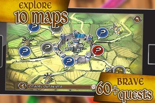 Battleloot Adventure screenshot 1