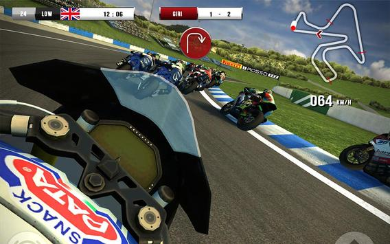 SBK16 Official Mobile Game apk تصوير الشاشة