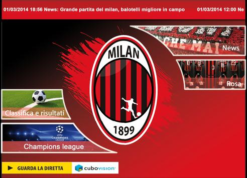 Calcio Milan screenshot 3