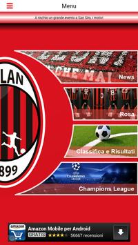 Calcio Milan screenshot 1