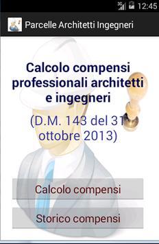Parcelle ingegneri/architetti poster