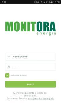 Monitora controllo energia poster