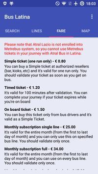 Bus Latina screenshot 7