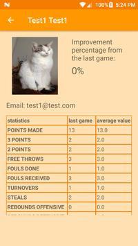 BBScout - BasketBall Scout apk screenshot