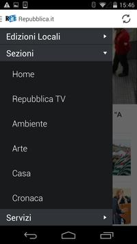 Repubblica.it apk screenshot
