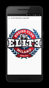 Elite Boxing Club poster