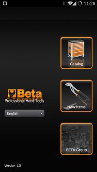 Beta Tools Catalog poster