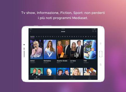 Schermata apk Mediaset Play