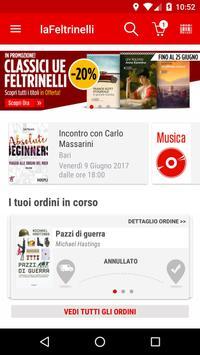 la Feltrinelli mobile poster