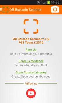 QR Barcode Scanner apk screenshot