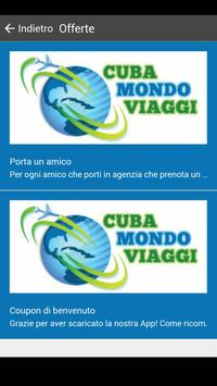Cubamondo Viaggi apk screenshot