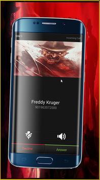 Call from Freddy Kruger apk screenshot