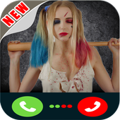 Real call from Harley Quinn icon