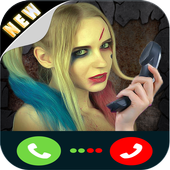 call from harley quin icon