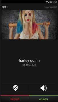 call from harley quin apk screenshot
