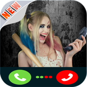 a call from harley quinn icon