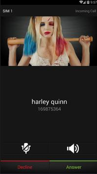 a call from harley quinn poster